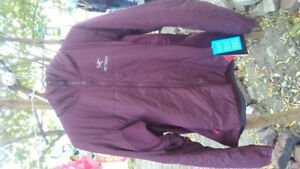 BRAND NEW WITH TAGS LADIES LARGE ARC'TERYX JACKET!!!! SIZE LARGE