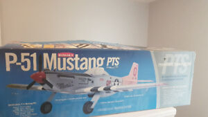 Mustang Ready to fly RC aircraft