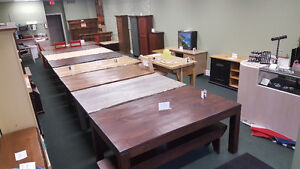 6 BARNWOOD DINING TABLES IN STOCK
