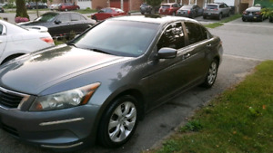 2009 honda accord exl 5-speed MANUAL  2.4L$3500sold as is