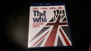 The Who At Kilburn 1977 bluray