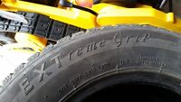 Extreme Grip Winter Claw used winter tires. Set of 4.
