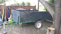 5 foot by 8 foot utility trailer