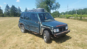 1997 SUZUKI SIDEKICK BUSH / FARM BEATER