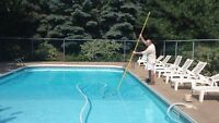 Entretien hebdo Piscine/ Weekly Pool Maintenance