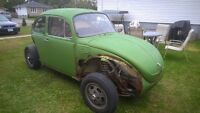 1975 Volkswagon SuperBeatle, parting out