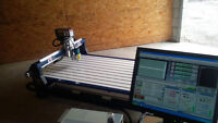 Neuf CNC Milling Router Usinage General 4x4 Sign Maker Plasma