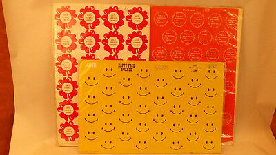 96 Vtg Classroom Awards, Smiley Face, Friend & Birthday by Scholars 1972 - Classroom Awards