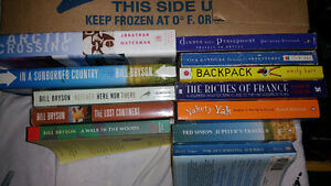 Travel books. Lot of 12.