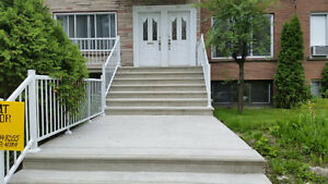 6 ½ lower duplex for rent Cote-St-Luc
