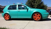 2001 Volkswagen Golf TDI Hatchback