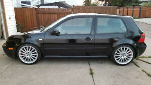 2001 VW GTI 1.8 TURBO FULLY BUILT  500HP DYNO EXC CONDITION !!