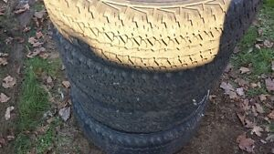 set of 4 275/65R18 Firestone Destination AT