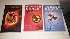 Hunger Games -Trilogy in French