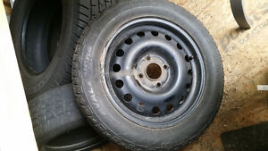 Ford Fiesta Winter Tires and Rims
