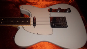 Mint Fender Telecaster Limited Channel Bound Sonic Blue USA made