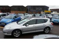 Peugeot 407 SW 2.2HDi 170 Sport Estate Only 88k, Cambelt Done, No Advisories