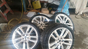 22 inch ford rims/tires