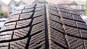 Used Michelin X-ice winter tires P215/55r17