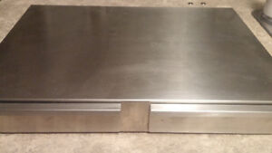 Base for Rancilio Silvia and grinder