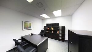 Spacious, Private and Furnished Office Space- GREAT LOCATION