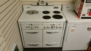 Vintage Acme Double Oven Stove