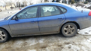 2003 Ford Taurus Cobalt Blue - Black Trim