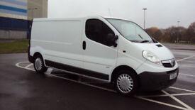 2014 VAUXHALL VIVARO 2.0CDTi 115ps EU V 2900 White Diesel Van LWB