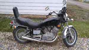 Nice old motor-bike to fix - or for parts