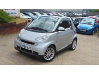 2010 Smart Fortwo 0.8 CDI Passion Cabriolet 2dr