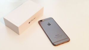 NICE IPHONE 6 UNLOCKED 16GB SPACE GREY