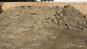 Clay mixed with some road crush - FREE Fill Edmonton Edmonton Area image 1