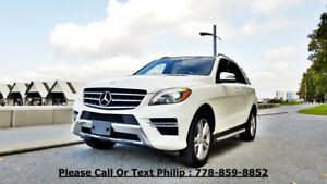 2013 Mercedes-Benz ML350,AWD, Premium SUV, Crossover