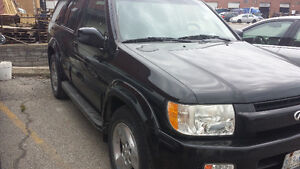 2003 Infiniti QX4 Black SUV, Crossover(Parting out)