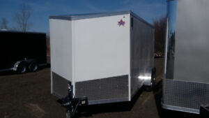 New  7X16 Enclosed Trailer