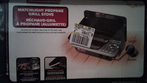 Camping stove Grill, Coleman NEW in box