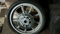 19 in AMF Harley front wheel
