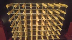 wine racks (4 various sizes)