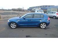 "BMW 1 SERIES 1.6 116i SPORT 5 DOOR 2006 ""56"" REG 70,000 MILES"