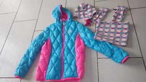 Manteau d'automne-printemps fille 10 ans