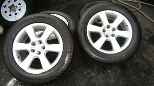 P235/60/18 Goodyear Tires and Hyundai 114 5 bolt pattern rims