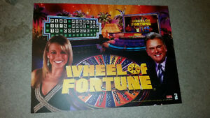 PINBALL TRANSLIGHT OF WHEEL OF FORTUNE IN MINT CONDITION!!!!!!!! London Ontario image 1