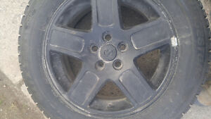 "17"" Winter tires on Rims"
