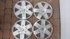 RENAULT enjoliveurs hubcaps wheel covers 15""