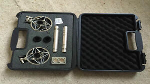 MAtching pair of microphones for studio or home use