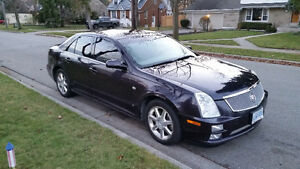 2006 CADILLAC STS AWD NAVIGATION ETEST & SAFETIED $5750.00 LOADE