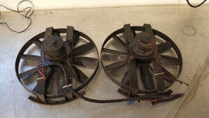 COOLING FANS FOR STREET OR STRIP CAR