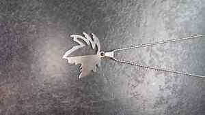 Stainless Steel Maple Leaf Necklace Kingston Kingston Area image 2