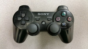 Black Sony PS3 Wireless Controller