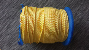 Yellow Polypropylene Rope 3/8 in. X 1200 ft.